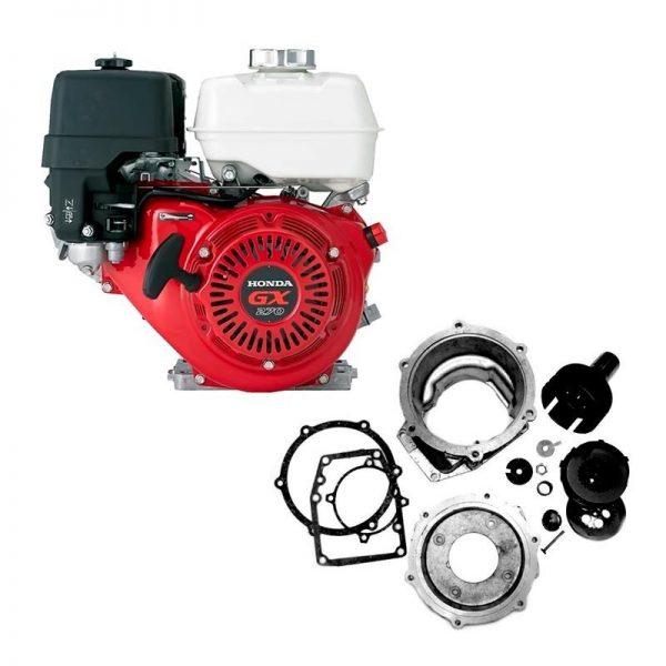 Профессиональный комплект для установки импортного двигателя на мотоблок МТЗ Беларус