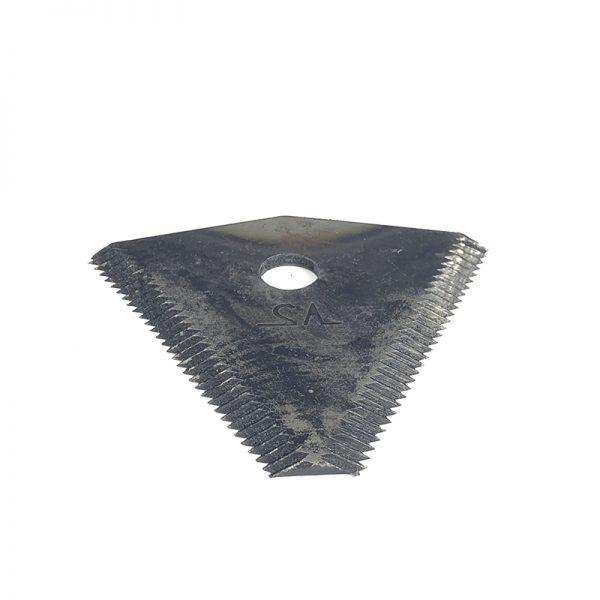Сегментный нож для роторной косилки Заря (Усиленный)