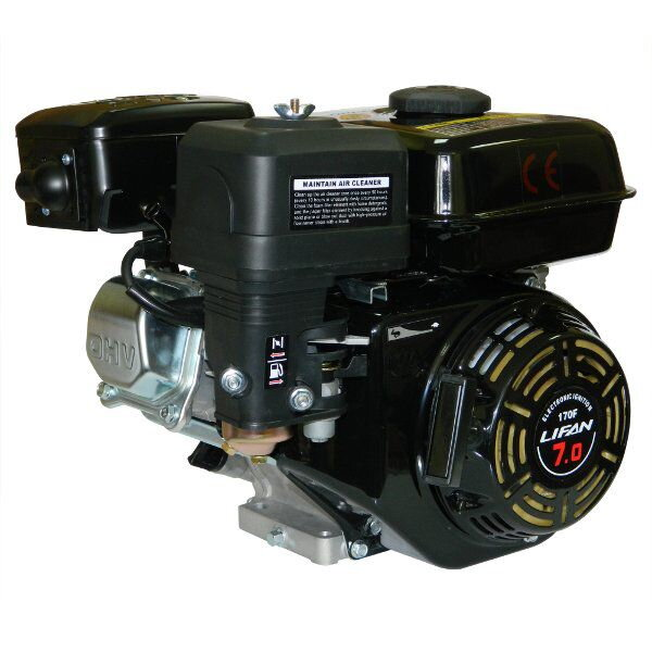 Двигатель для мотоблока Lifan 170F 7 л.с.