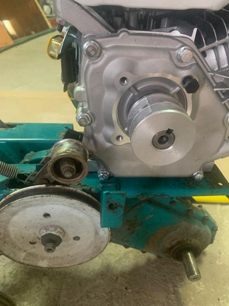 7 768x1024 - Как установить новый двигатель на мотокультиватор КРОТ - poleznye-stati