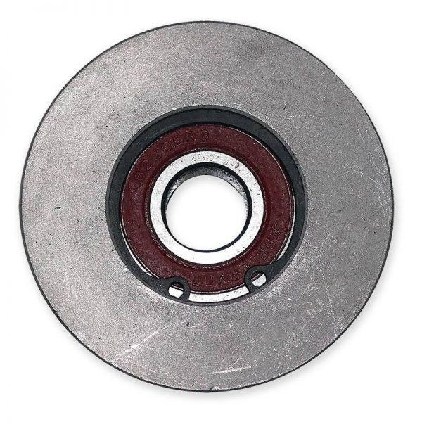Шкив натяжного устройства для роторной косилки Заря (КР.05.590)