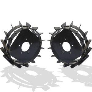Грунтозацепы 350×130 мм для мотоблока НМБ-1 старой модификации (комплект)