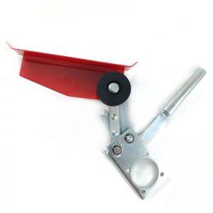 Натяжное устройство косилки Заря с защитой ремня